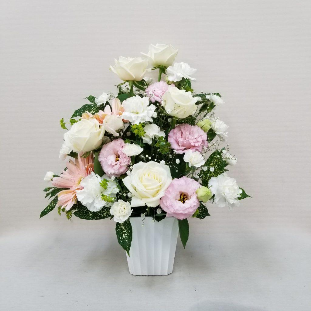 【御供】バラとトルコキキョウのアレンジメント_55_SP_OS
