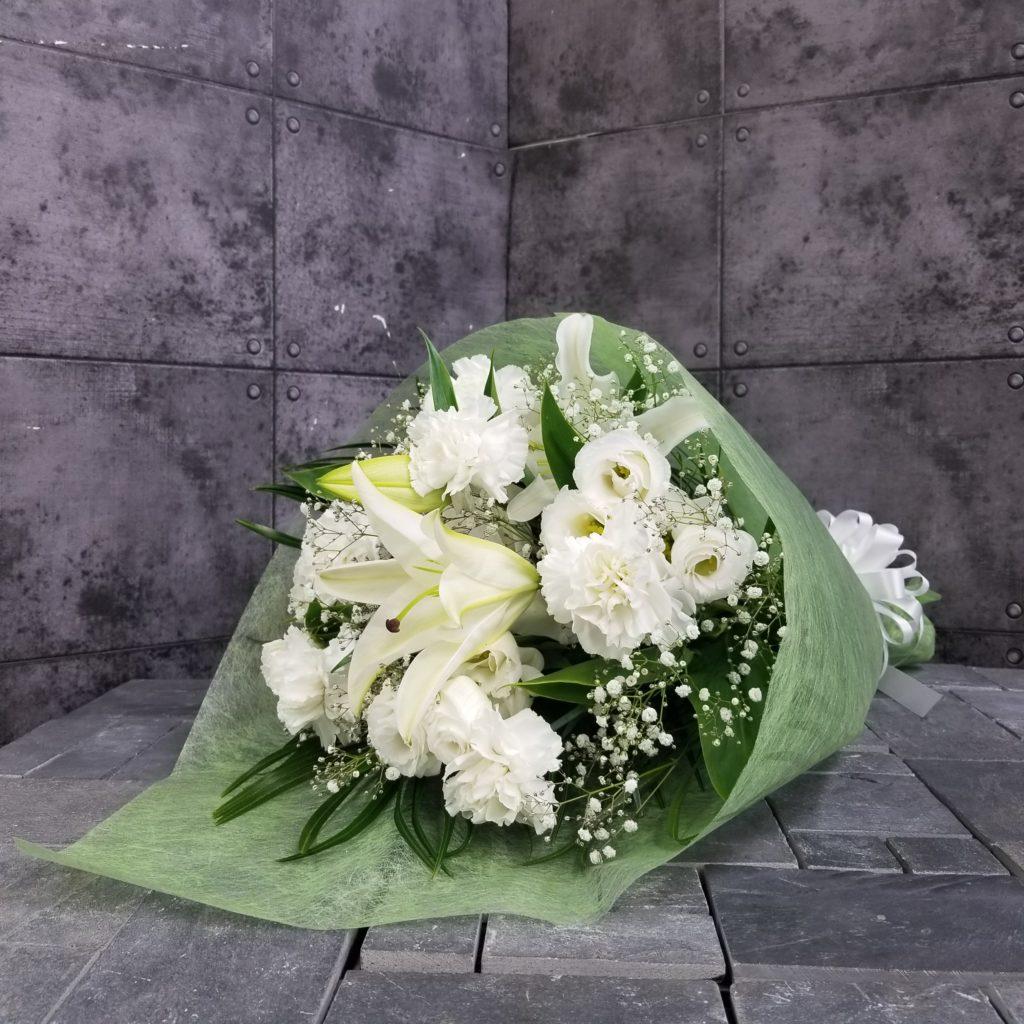 【御供】ユリとカーネーションの花束W_70_SP-OS
