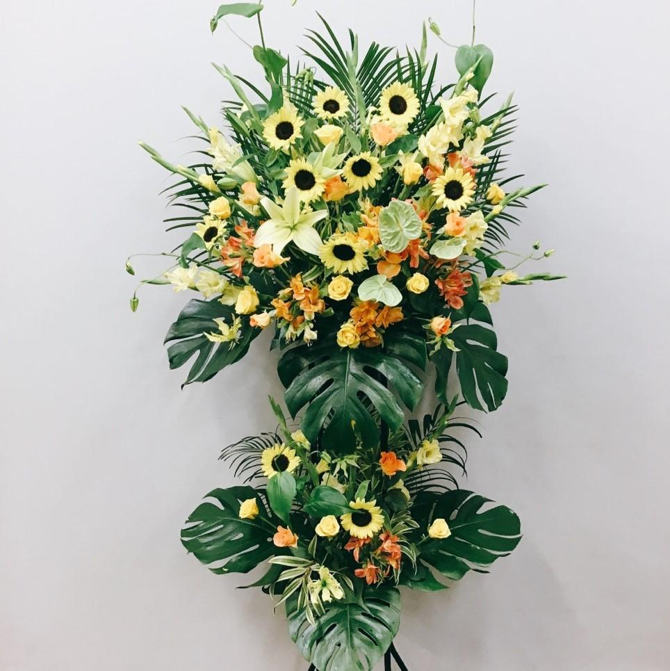 お祝い用スタンド花(2段)12726-0002