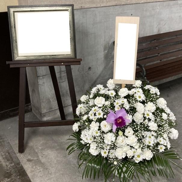通夜葬儀用生花スタンド18032-0001