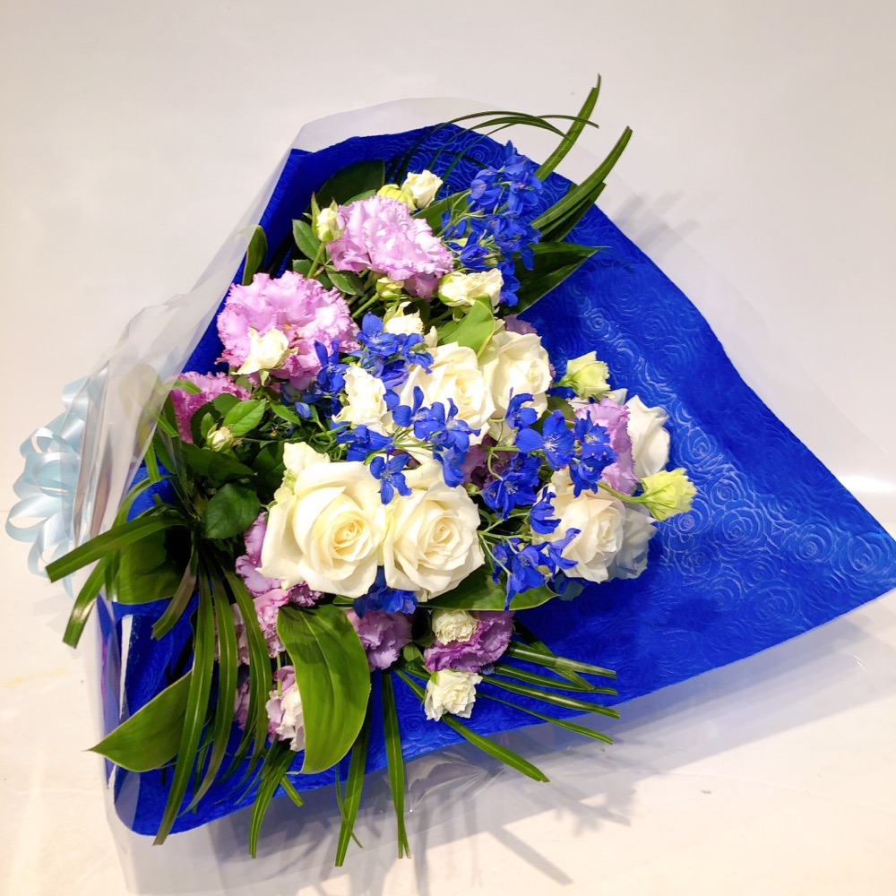 blue &purple の花束(H60)
