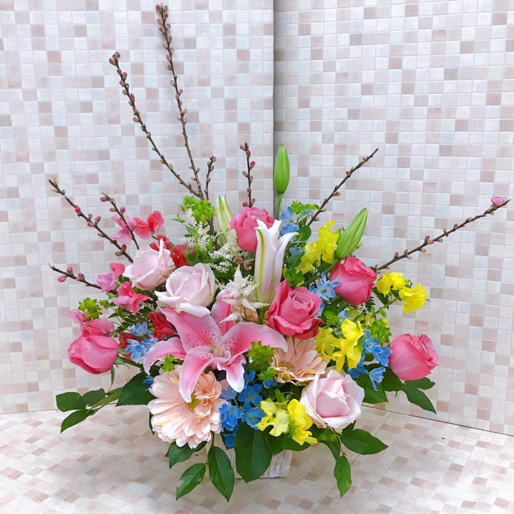春色ときめきMIXアレンジメント(H40)