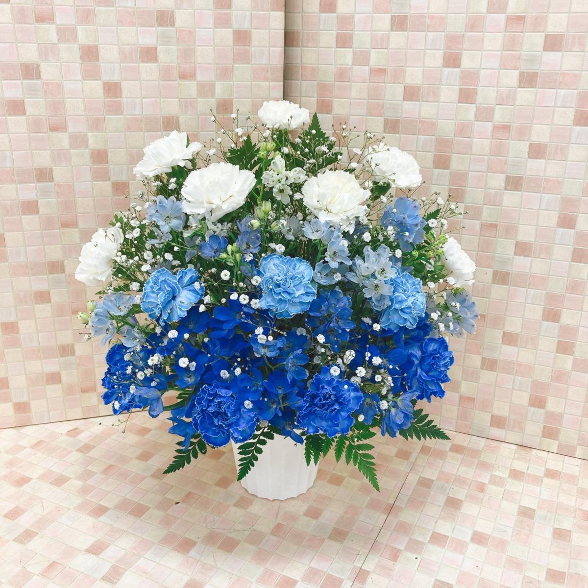【供花】カーネーショングラデアレンジ WB(H45)