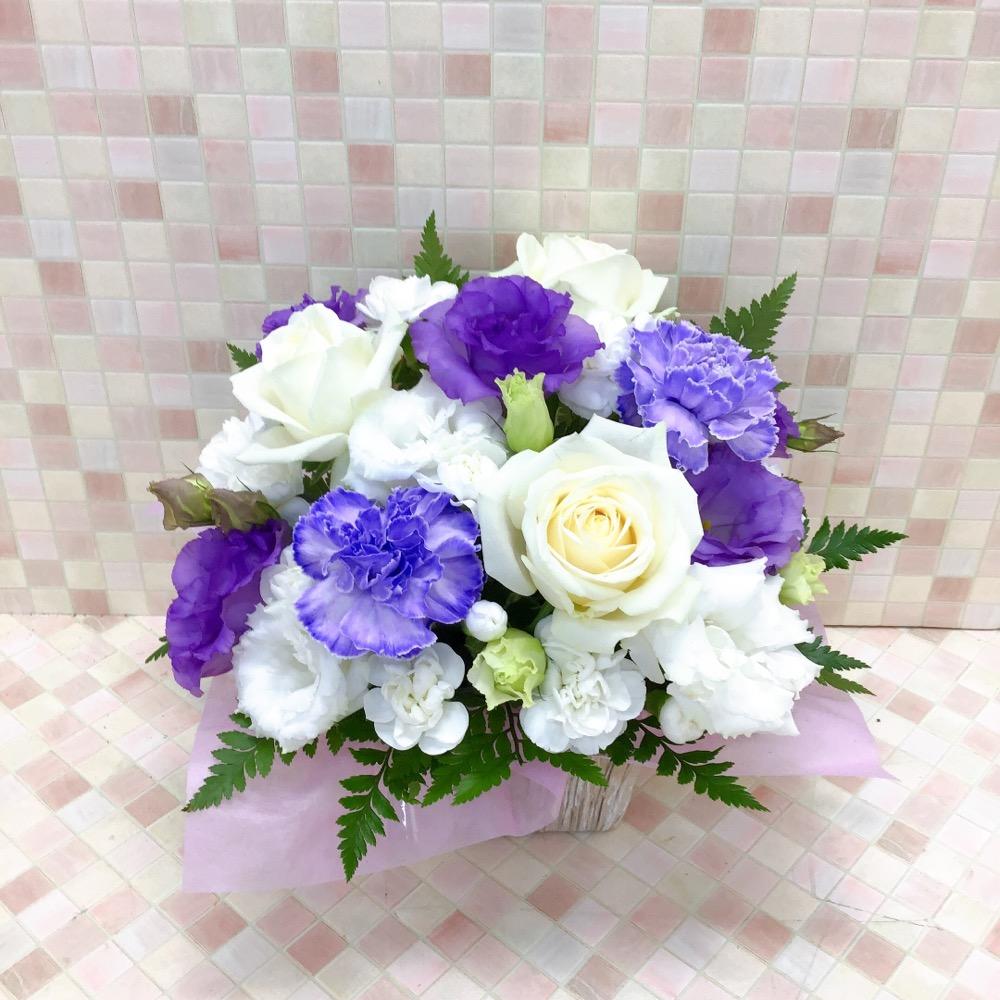 【供花】カーネーショングラデアレンジ WB(H35)